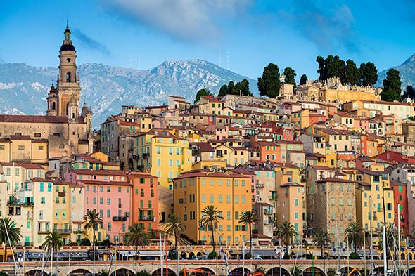 F51CKB Menton, France, region Provence, department Alpes Maritimes, France